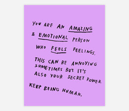 Keep Being Human