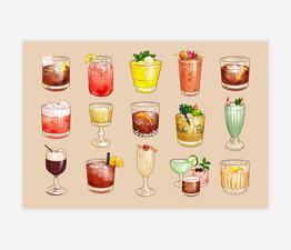Iconic Cocktails of Portland (Cream)