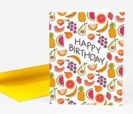 Happy Birthday Fruits
