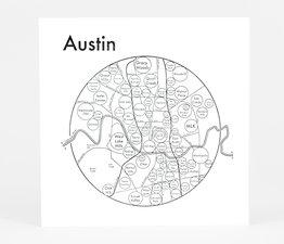 Circle Map of Austin
