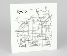 Circle Map of Kyoto