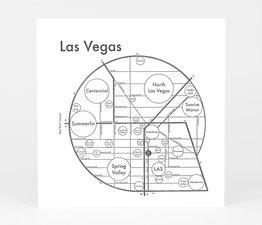 Circle Map of Las Vegas