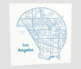 Circle Map of Los Angeles