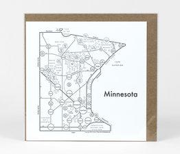 Circle Map of Minnesota