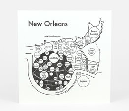 Circle Map of New Orleans