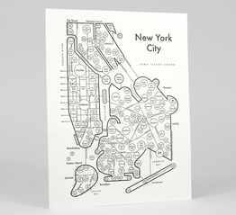 Circle Map of New York City