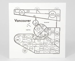 Circle Map of Vancouver