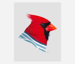 Cardinal (Striped Sweater)