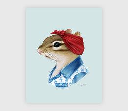 Chipmunk Lady