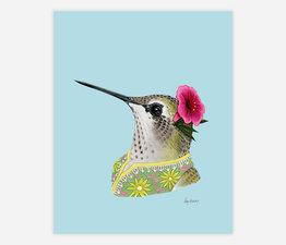 Hummingbird Lady