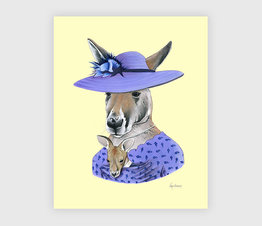 Mrs. Kangaroo and Joey