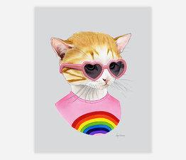 Rainbow Kitten
