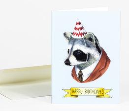 Happy Birthday Raccoon
