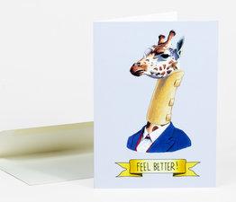 Feel Better Giraffe
