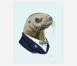 Sea Lion Gentleman