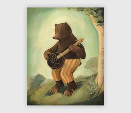 Boris Plays the Mandolin