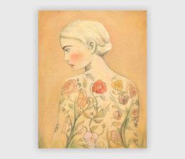 Flora (The Tattooed Girl)