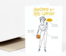 Anatomy of a Rad Woman (Orange)