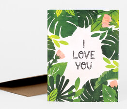 I Love You Leaves