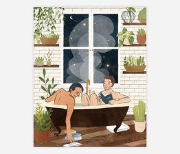 Night Bath (Man/Man)
