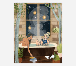 Night Bath (Woman/Woman)