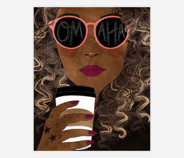 Omaha (Black Hair)