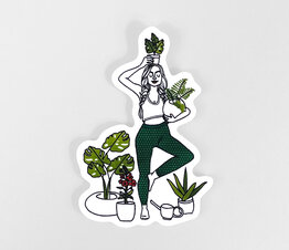 Yoga Plant Lady