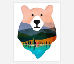 Bike Camping Bear