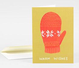 Warm Wishes Mitten
