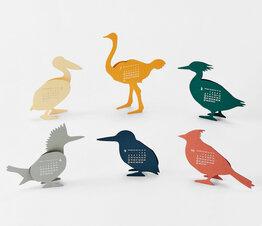 Birds - Paper Craft Calendar
