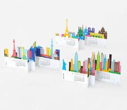 City - Paper Craft Calendar