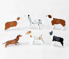 Dogs - Paper Craft Calendar