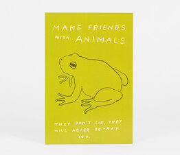 Make Friends with Animals