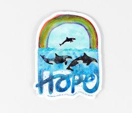 Rainbow, Hope & Little Scarlet