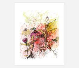 Echinacea, Tumeric, and Bees