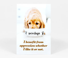 I Benefit From Oppression