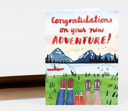 Congratulations on Your New Adventure