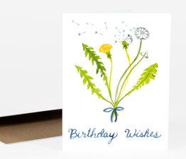 Dandelion Birthday Wishes