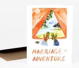 Marriage = Adventure