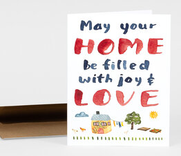 May Your Home Be Filled with Joy and Love