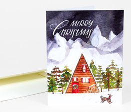 Merry Christmas (A-Frame)