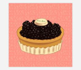 Bar Luce Tart: Blackberry