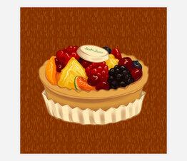 Bar Luce Tart: Mixed Fruit