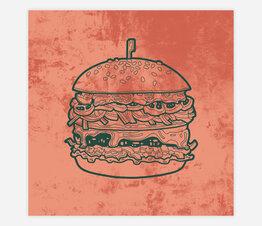 Sandwich: Hamburguesa