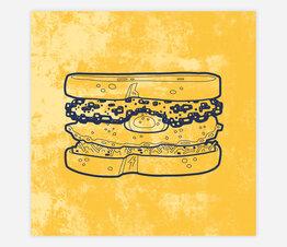 Sandwich: Yolko Ono