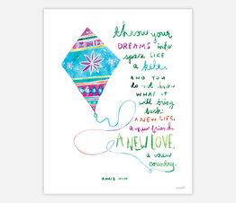 Throw Your Dreams Like a Kite