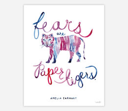 Fears are Paper Tigers