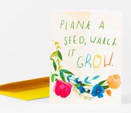 Plant a Seed, Watch it Grow