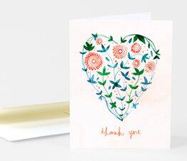 Thank You Garden Heart