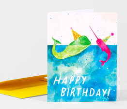 Happy Birthday Whale